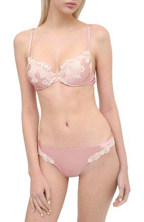 Женские трусы-слипы LA PERLA розового цвета, арт. 0051220 | Фото 2