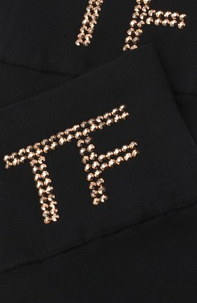 Женские носки TOM FORD черного цвета, арт. S00002-YAX281 | Фото 2
