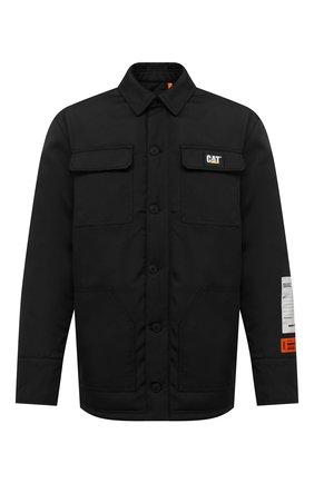 Мужская утепленная куртка heron preston x caterpillar HERON PRESTON черного цвета, арт. HMEM005F20FAB0021000 | Фото 1