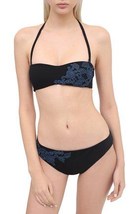 Женский плавки-бикини LA PERLA черного цвета, арт. 0052260 | Фото 2