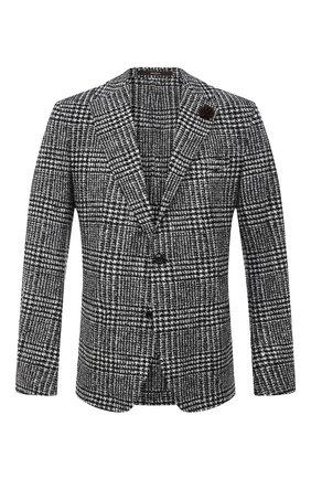 Мужской пиджак WINDSOR черно-белого цвета, арт. 13 GIR0-J37 10010250   Фото 1