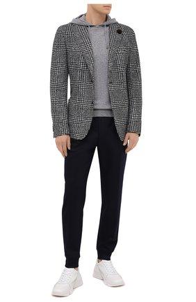 Мужской пиджак WINDSOR черно-белого цвета, арт. 13 GIR0-J37 10010250   Фото 2