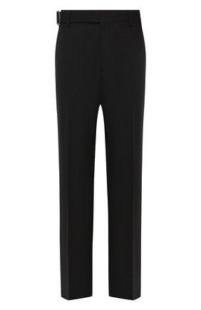 Мужские брюки VALENTINO черного цвета, арт. UV0RBF706DP | Фото 1