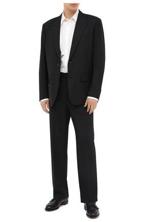Мужские брюки VALENTINO черного цвета, арт. UV0RBF706DP | Фото 2
