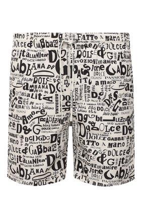 Детского плавки-шорты DOLCE & GABBANA белого цвета, арт. M4A13T/HSMLU | Фото 1