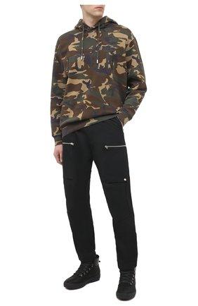 Мужские замшевые ботинки BOGNER черного цвета, арт. 103-A543/ANCH0RAGE M1D | Фото 2