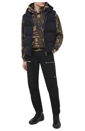 Мужские кожаные ботинки BOGNER черного цвета, арт. 103-A723/ANCH0RAGE M4A | Фото 2