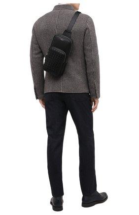 Мужской кожаный рюкзак mosaico SERAPIAN черного цвета, арт. SM0SAMML7132M16A | Фото 2