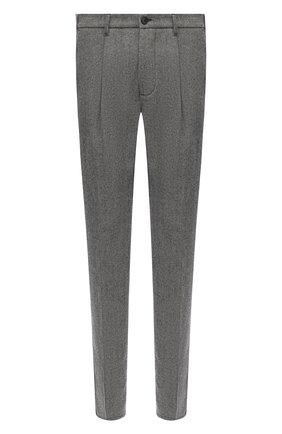 Мужской шерстяные брюки ALTEA темно-серого цвета, арт. 2063058 | Фото 1