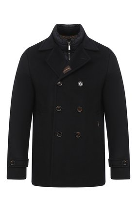Мужской пальто из шерсти и кашемира bolgi-le MOORER темно-синего цвета, арт. B0LGI-LE/A20M640LEN0 | Фото 1
