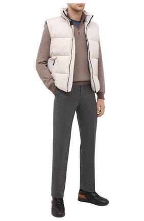 Мужские кожаные кроссовки TOD'S черного цвета, арт. XXM56B0AY310X8 | Фото 2