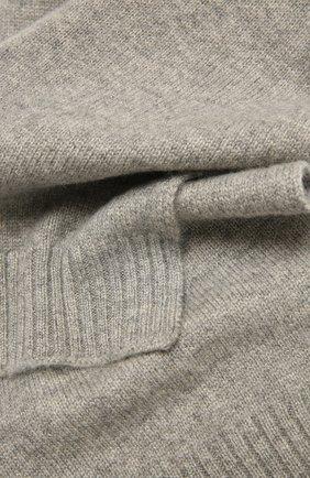 Детский кашемировый шарф OSCAR ET VALENTINE серого цвета, арт. ECH02 | Фото 2