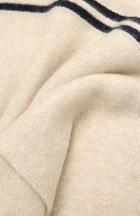 Детский кашемировый шарф OSCAR ET VALENTINE бежевого цвета, арт. ECH15A | Фото 2