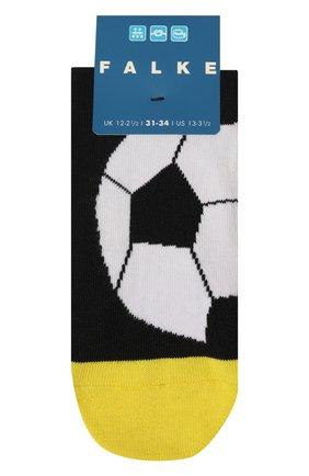 Детские носки FALKE желтого цвета, арт. 12933. | Фото 1