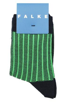 Детские хлопковые носки FALKE зеленого цвета, арт. 12932. | Фото 1