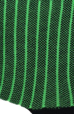 Детские хлопковые носки FALKE зеленого цвета, арт. 12932. | Фото 2