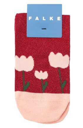Детские носки FALKE бордового цвета, арт. 12928. | Фото 1