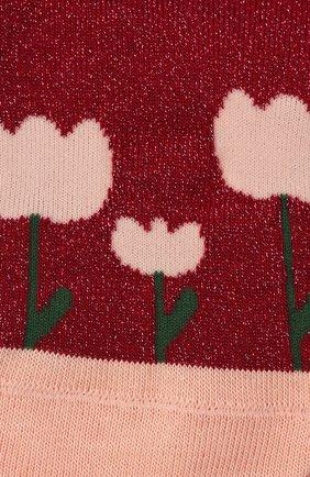 Детские носки FALKE бордового цвета, арт. 12928. | Фото 2