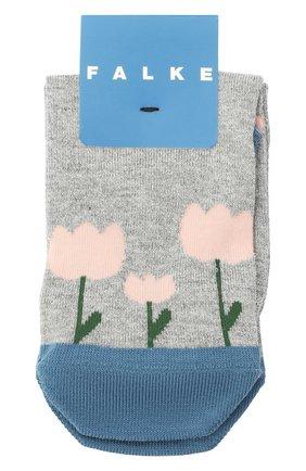Детские носки FALKE серого цвета, арт. 12928. | Фото 1