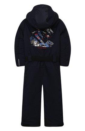 Детский комбинезон с капюшоном POIVRE BLANC темно-синего цвета, арт. 279659   Фото 2