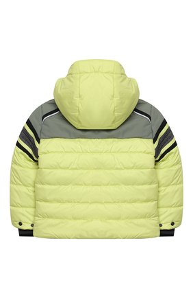 Детского куртка с капюшоном POIVRE BLANC светло-зеленого цвета, арт. 279657   Фото 2
