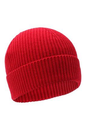 Детского шапка из шерсти и хлопка DSQUARED2 красного цвета, арт. DQ04AD-D00WC | Фото 1