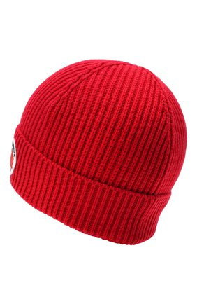 Детского шапка из шерсти и хлопка DSQUARED2 красного цвета, арт. DQ04AD-D00WC | Фото 2