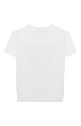 Детская хлопковая футболка KENZO разноцветного цвета, арт. KR10208 | Фото 2