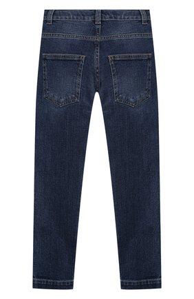 Детские джинсы FENDI синего цвета, арт. JMF316/A6IQ/3A-6A   Фото 2