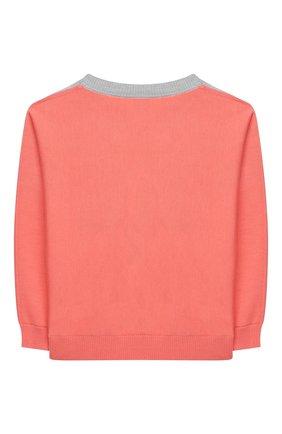 Детский шерстяной пуловер BURBERRY разноцветного цвета, арт. 8032586   Фото 2