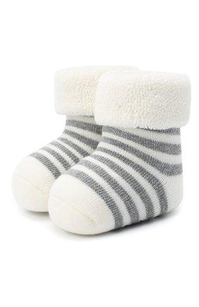 Детские хлопковые носки FALKE белого цвета, арт. 10040. | Фото 1