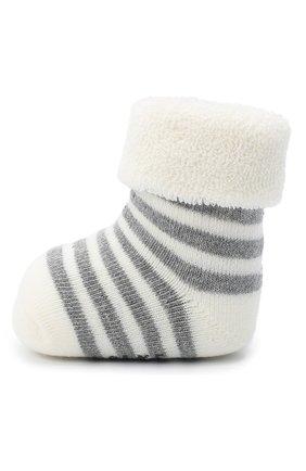 Детские хлопковые носки FALKE белого цвета, арт. 10040. | Фото 2