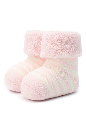 Детские хлопковые носки FALKE светло-розового цвета, арт. 10040. | Фото 1