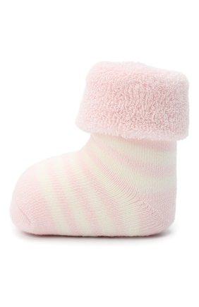 Детские хлопковые носки FALKE светло-розового цвета, арт. 10040. | Фото 2