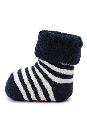 Детские хлопковые носки FALKE темно-синего цвета, арт. 10040. | Фото 2 (Материал: Хлопок, Текстиль)