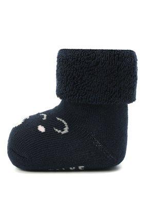 Детские хлопковые носки FALKE темно-синего цвета, арт. 12211. | Фото 2