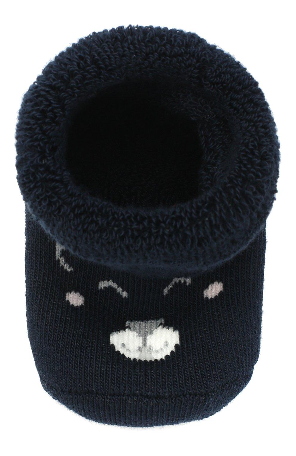 Детские хлопковые носки FALKE темно-синего цвета, арт. 12211. | Фото 4
