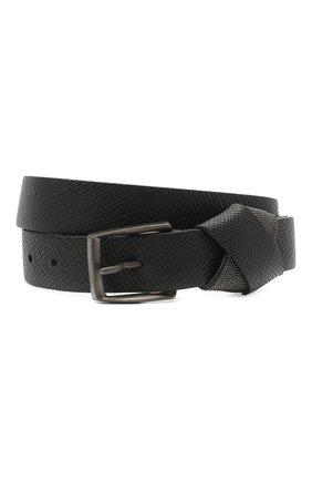 Женский кожаный ремень BRUNELLO CUCINELLI черного цвета, арт. M0PGLC31FP | Фото 1