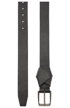 Женский кожаный ремень BRUNELLO CUCINELLI черного цвета, арт. M0PGLC31FP | Фото 2