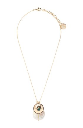 Женская кулон на цепочке ANTON HEUNIS золотого цвета, арт. TCT1.20   Фото 1