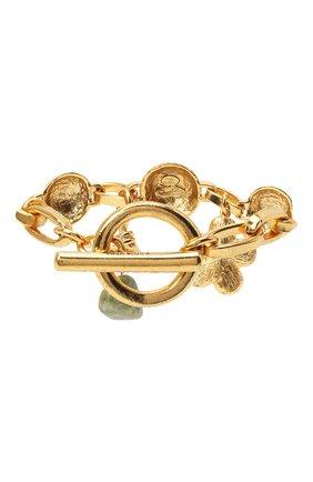 Женский браслет OSCAR DE LA RENTA золотого цвета, арт. P20J202G0L | Фото 2