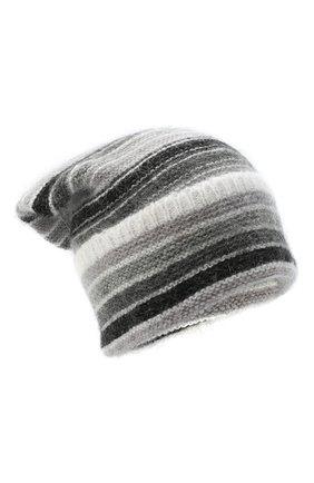 Женская шапка TAK.ORI серого цвета, арт. HTK70007MA050AW20 | Фото 1