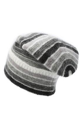 Женская шапка TAK.ORI серого цвета, арт. HTK70007MA050AW20 | Фото 2
