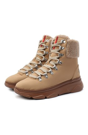 Женские ботинки F_WD бежевого цвета, арт. FWS35061A/12104 | Фото 1