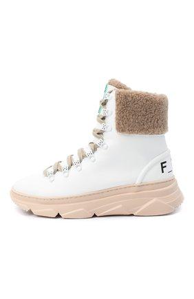Женские ботинки F_WD белого цвета, арт. FWS35061A/12108 | Фото 3