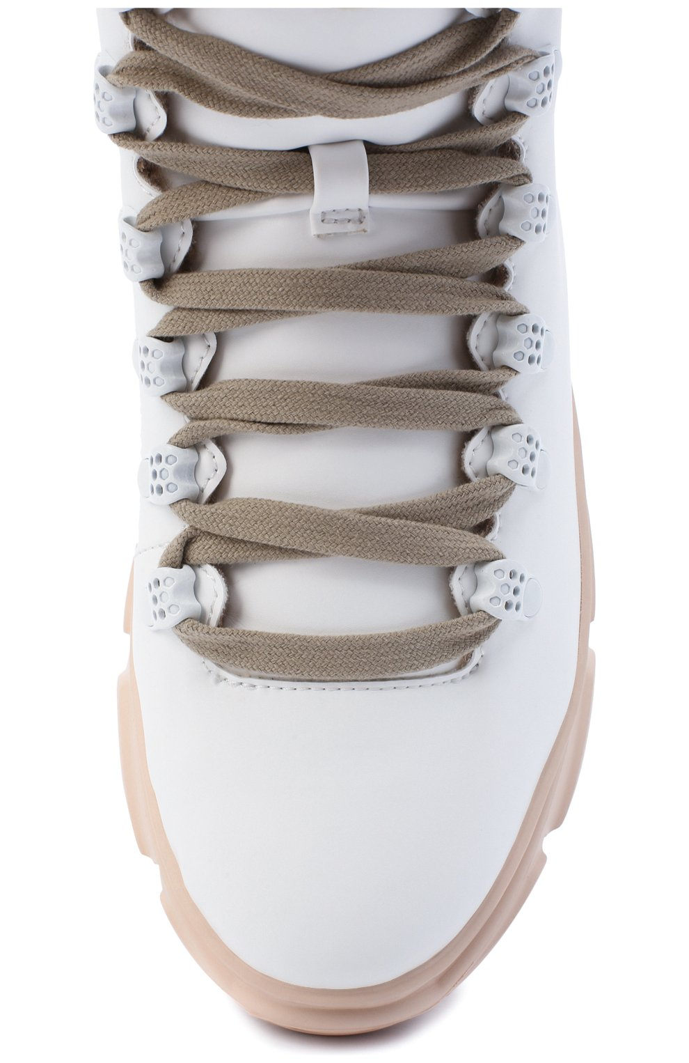 Женские ботинки F_WD белого цвета, арт. FWS35061A/12108 | Фото 5