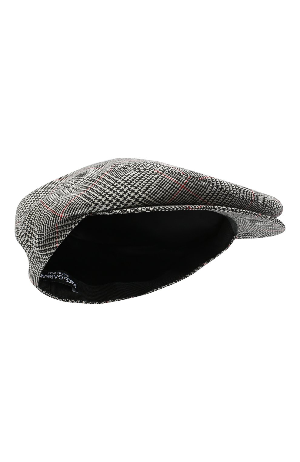 Женская шерстяная кепка DOLCE & GABBANA светло-серого цвета, арт. FH473A/FQ2LZ   Фото 1