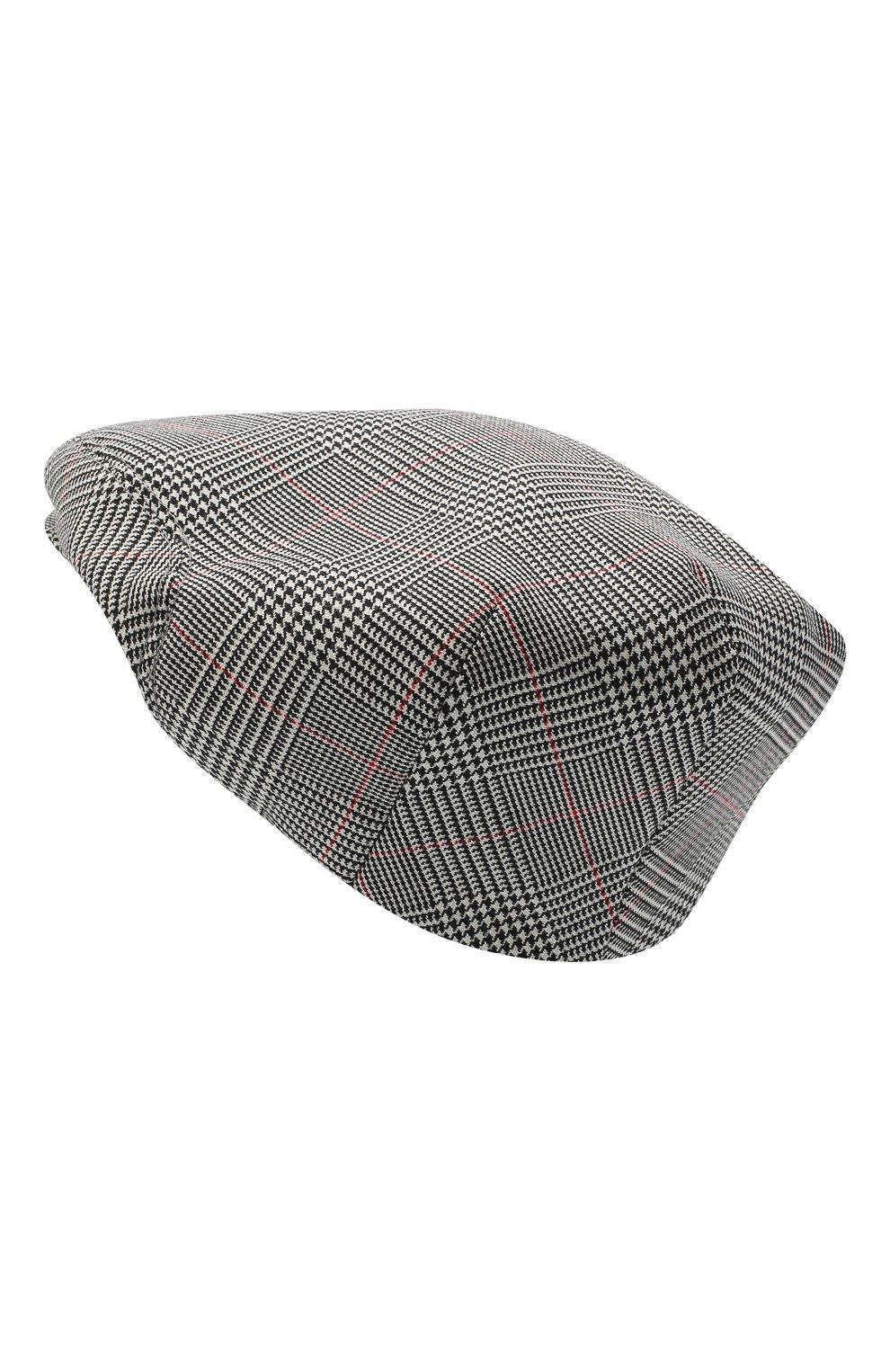 Женская шерстяная кепка DOLCE & GABBANA светло-серого цвета, арт. FH473A/FQ2LZ   Фото 2