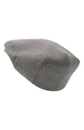 Женская шерстяная кепка DOLCE & GABBANA светло-серого цвета, арт. FH473A/FQ2LZ | Фото 2