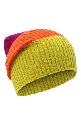 Женский шерстяная шапка GUCCI разноцветного цвета, арт. 628094/3GF52 | Фото 1